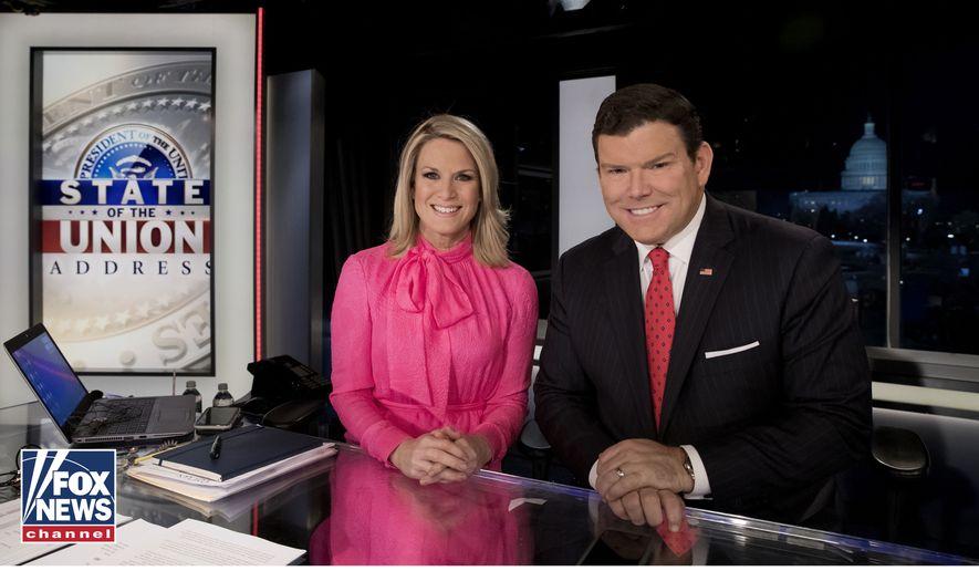Fox News anchors Martha MacCallum and Bret Baier (Fox News)