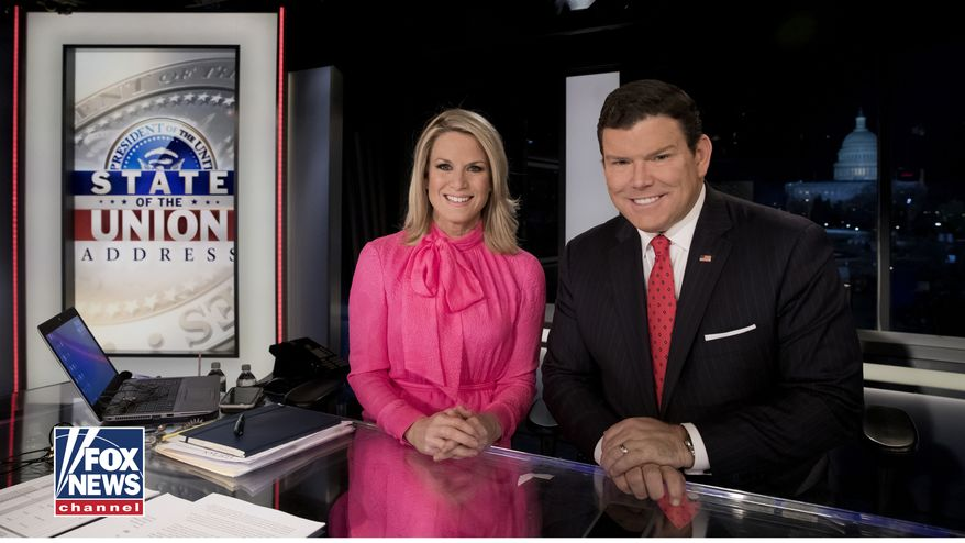 Fox News anchors Martha MacCallum and Bret Baier (Fox News)