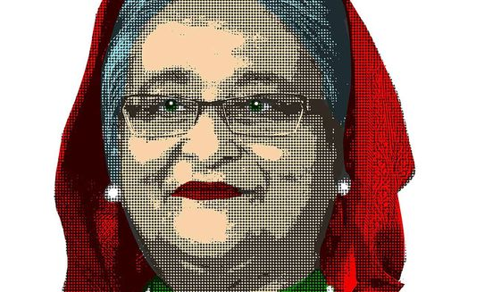 Sheikh Hasina Illustration by Greg Groesch/The Washington Times