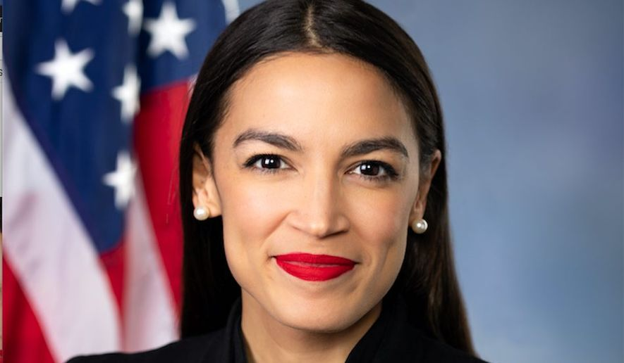 """A proposal by Rep. Alexandria Ocasio-Cortez, New York Democrat, for a """"Green New Deal"""" could put the U.S. in the red financially, analysts say. (U.S. House of Representatives)"""
