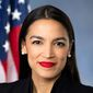 "A proposal by Rep. Alexandria Ocasio-Cortez, New York Democrat, for a ""Green New Deal"" could put the U.S. in the red financially, analysts say. (U.S. House of Representatives)"