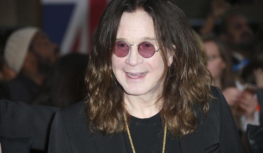 In this Sept. 28, 2015 file photo, Ozzy Osbourne poses for photographers upon arrival at the Pride of Britain Awards 2015 in London. (Photo by Joel Ryan/Invision/AP, File)