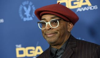 Spike Lee arrives at the 71st annual DGA Awards at the Ray Dolby Ballroom on Saturday, Feb. 2, 2019, in Los Angeles. (Photo by Chris Pizzello/Invision/AP)
