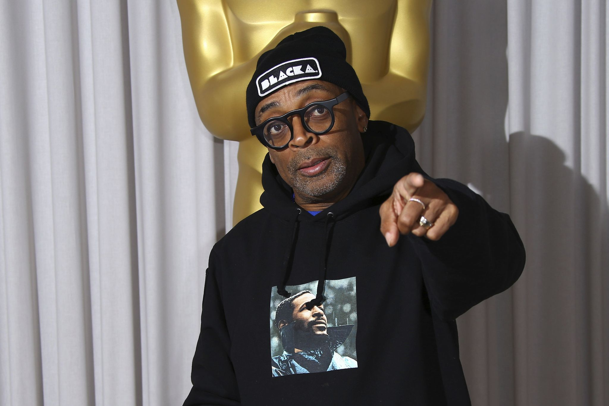 Spike Lee says #OscarsSoWhite political pressure prompted 'feast' of award nominations