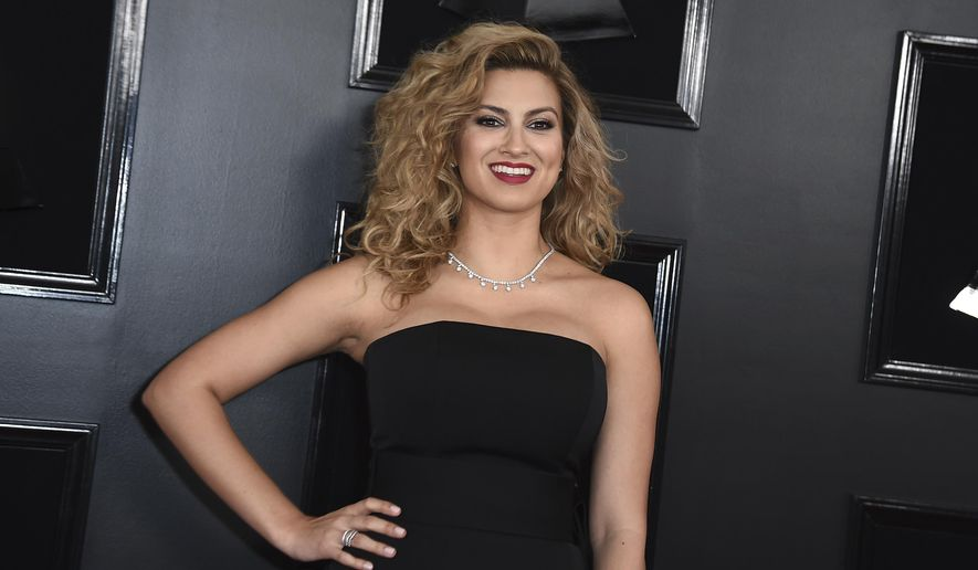 Tori Kelly arrives at the 61st annual Grammy Awards at the Staples Center on Sunday, Feb. 10, 2019, in Los Angeles. (Photo by Jordan Strauss/Invision/AP)