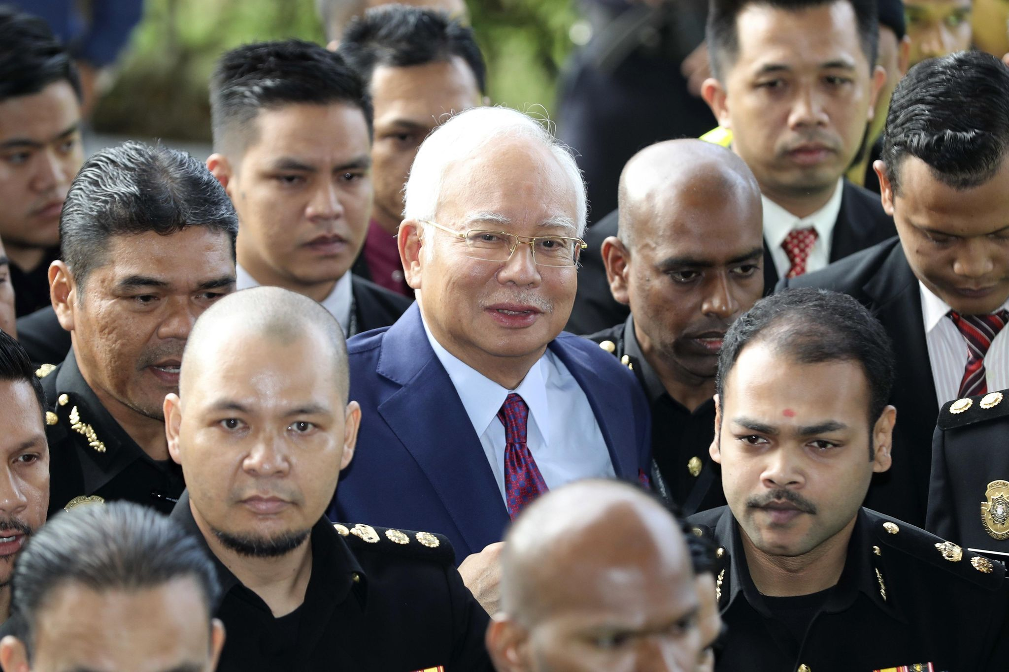 Malaysian ex-PM Najib combative ahead of 1MDB graft trial