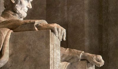 Illustration on Abraham Lincoln    The Washington Times