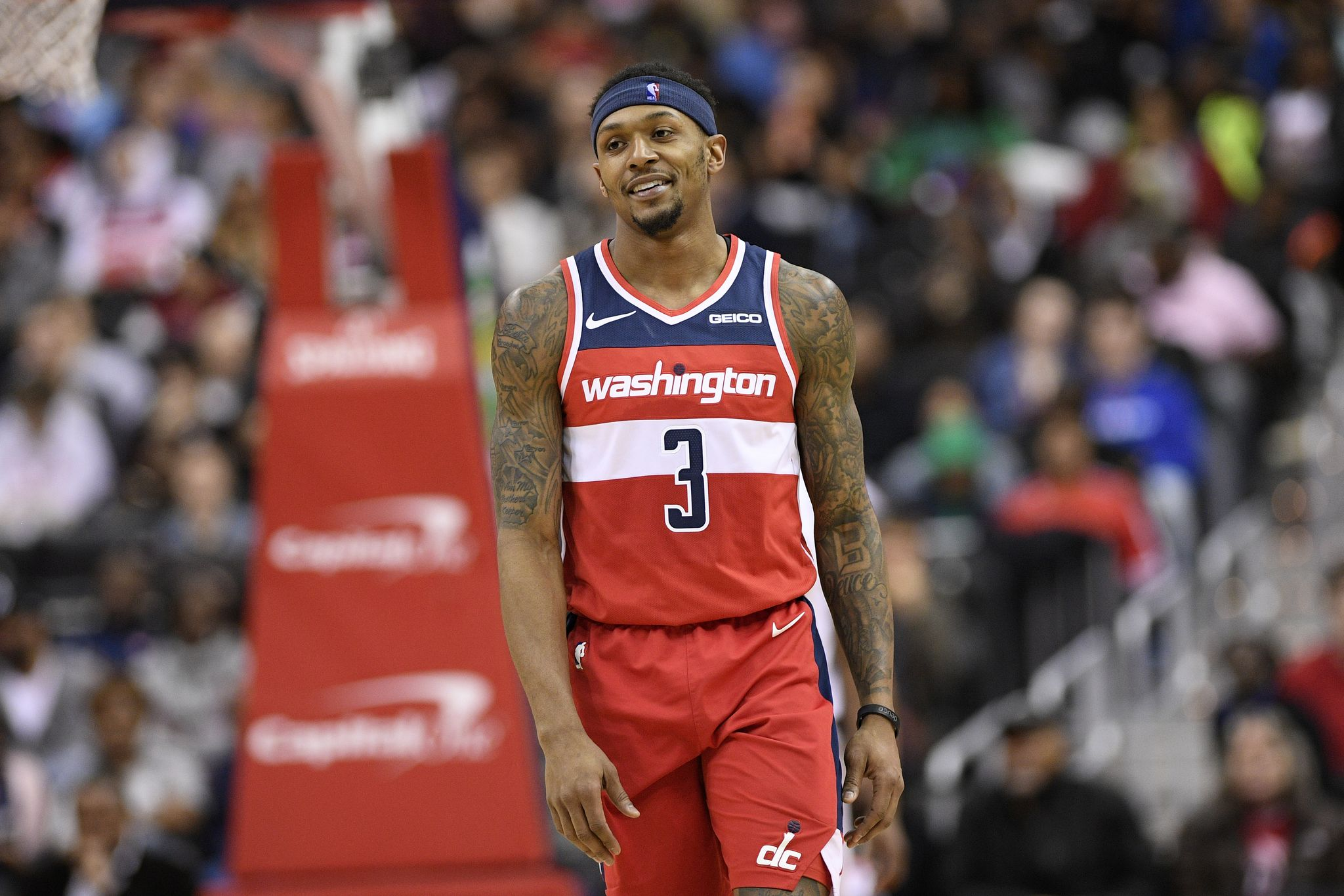 Bradley Beal says he recruited All-Stars to play for Wizards