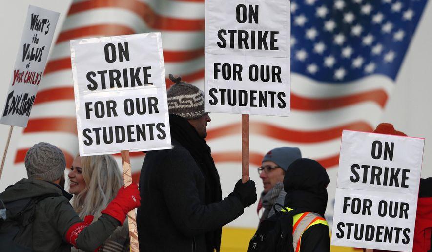 Denver teachers, officials negotiate to try to end strike