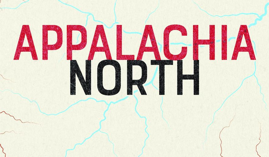 "This cover image released by West Virginia University Press shows ""Appalachia North,"" a memoir by Matthew Ferrence. (West Virginia University Press via AP)"