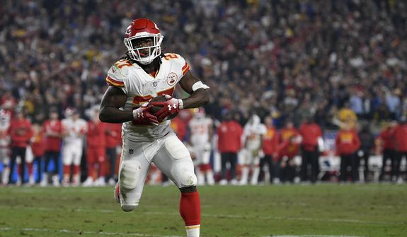 aa5b5e758ad Kareem Hunt suspended 8 games for attacking woman. By Adam Zielonka - The Washington  Times