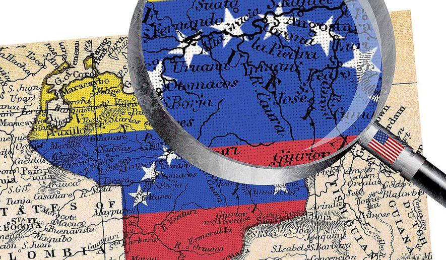 A Closer Look at Venezuela Illustration by Greg Groesch/The Washington Times