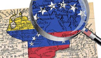 A Closer Look at Venezuela Illustration by Greg Groesch/The Washington Times