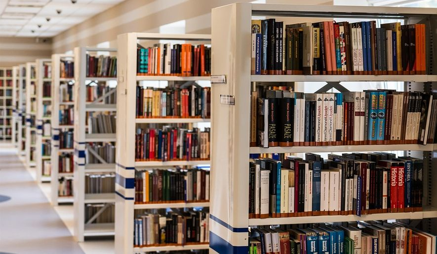 FILE: Library books via pixabay