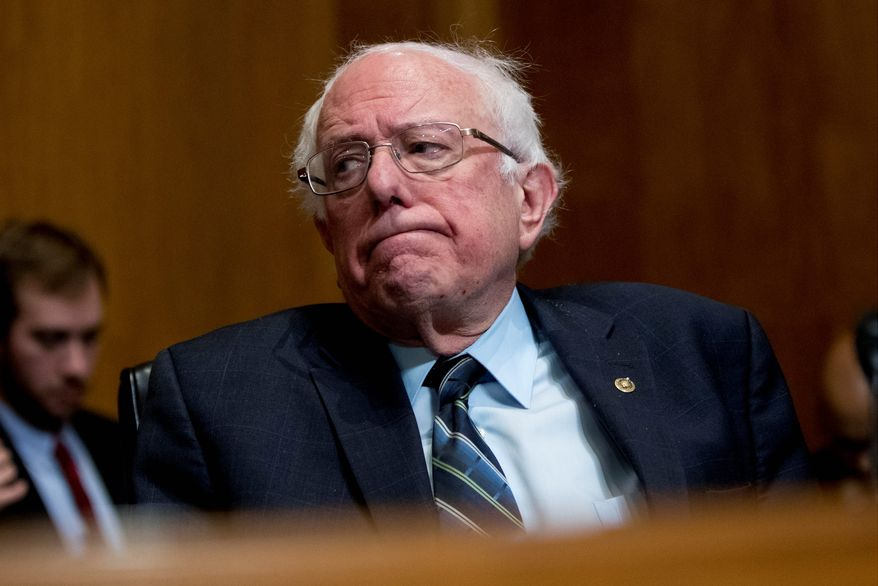 In this Jan. 16, 2019, file photo Sen. Bernie Sanders, I-Vt., attends a hearing on Capitol Hill in Washington. (AP Photo/Andrew Harnik, File)