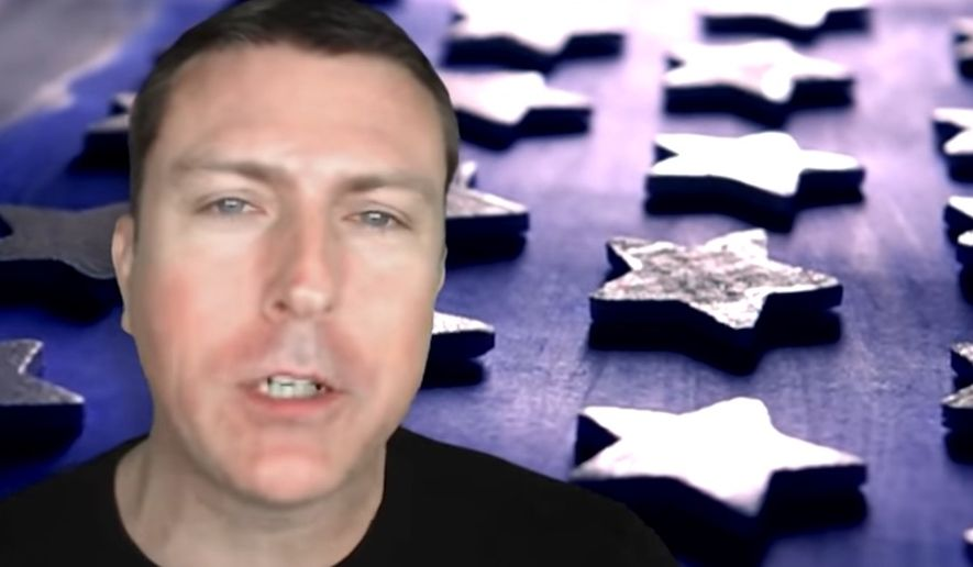 Conservative YouTube star Mark Dice has been blocked by Wikipedia editors from a debate on how his own biography page should read, Feb. 14, 2019. (Image: YouTube, Mark Dice video screenshot)
