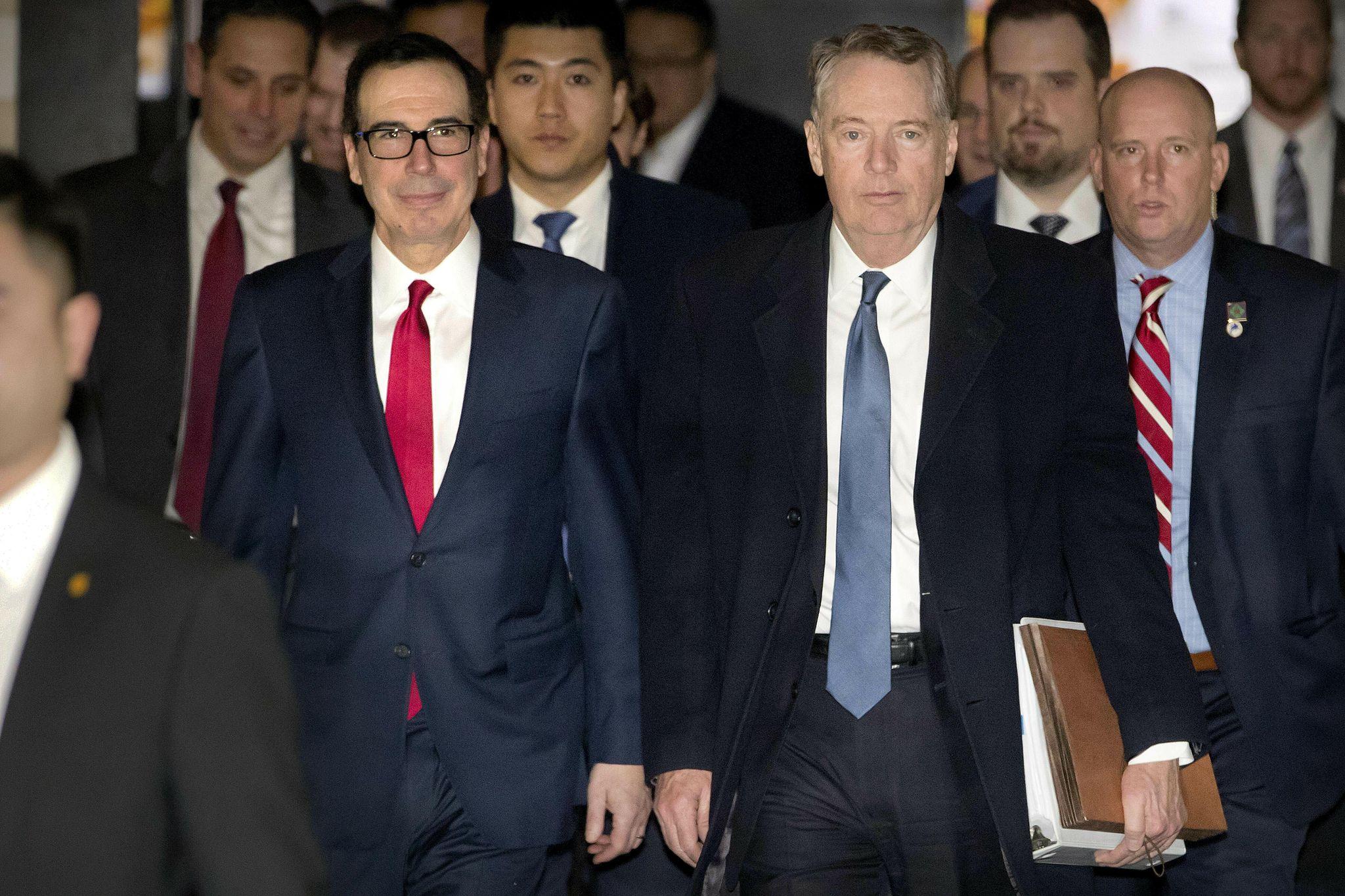 U.S., China to hold more trade talks in Washington next week