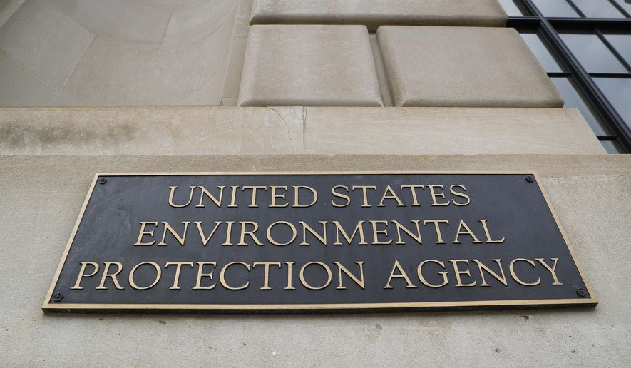 In this Sept. 21, 2017, file photo, the Environmental Protection Agency (EPA) Building is shown in Washington. On August 9, 2019, the EPA proposed a rule aimed at streamlining approval of oil and gas pipeline projects. Environmental groups like the Sierra Club swiftly denounced the proposal. The proposed regulation will enter a 60-day public comment period when it's published in the Federal Register. (AP Photo/Pablo Martinez Monsivais) **FILE**