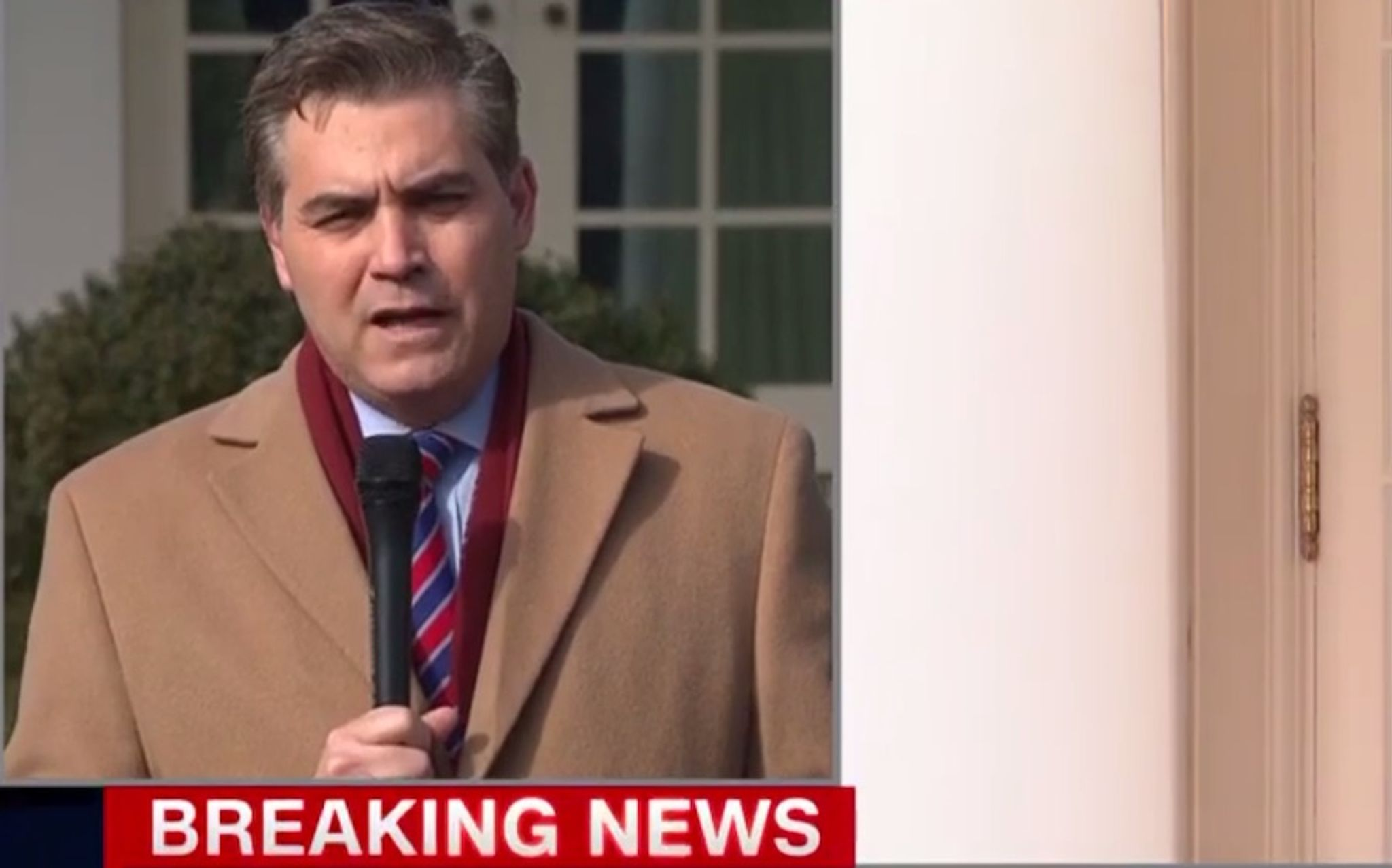 Jim Acosta blasted by Angel Mom after challenging Trump on national emergency: 'This is real'