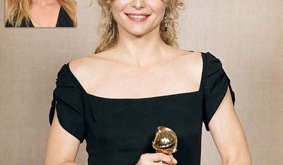 Actress and producer Michelle Pfeiffer, 60