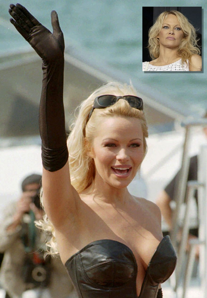 Actress and model  Pamela Anderson, 51