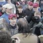 Nick Sandmann and Nathan Phillips              The Washington Times