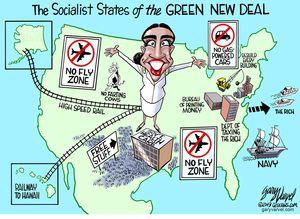 The Socialist States of the New Green Deal