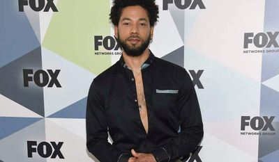 "Jussie Smollett, a cast member on ""Empire,"" said he was attacked by two men in Chicago last month. However, holes are emerging in his story and it brings to mind stories of hoaxes that dominated the news cycle since President Trump was elected. (Associated Press Photographs)"