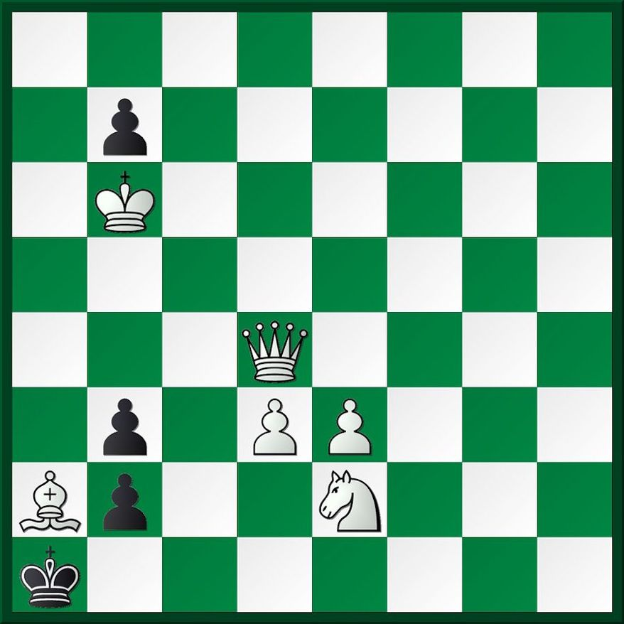 White to play and mate in three.