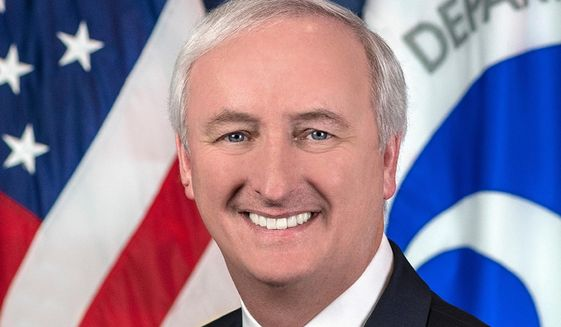 In this image provided by the Department of Transportation, then-Deputy Transportation Secretary Jeffrey Rosen is shown in his official portrait in Washington. Rosen is now the deputy attorney general. (Department of Transportation via AP) ** FILE **