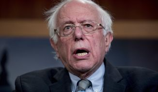 In this Jan. 30, 2019, file photo, Sen. Bernie Sanders, I-Vt., speaks at a news conference on Capitol Hill in Washington. Sanders, whose insurgent 2016 presidential campaign reshaped Democratic politics, announced Tuesday, Feb. 19, 2019, that he is running for president in 2020. (AP Photo/Andrew Harnik, File)