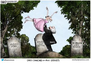 Dirty dancing on their graves