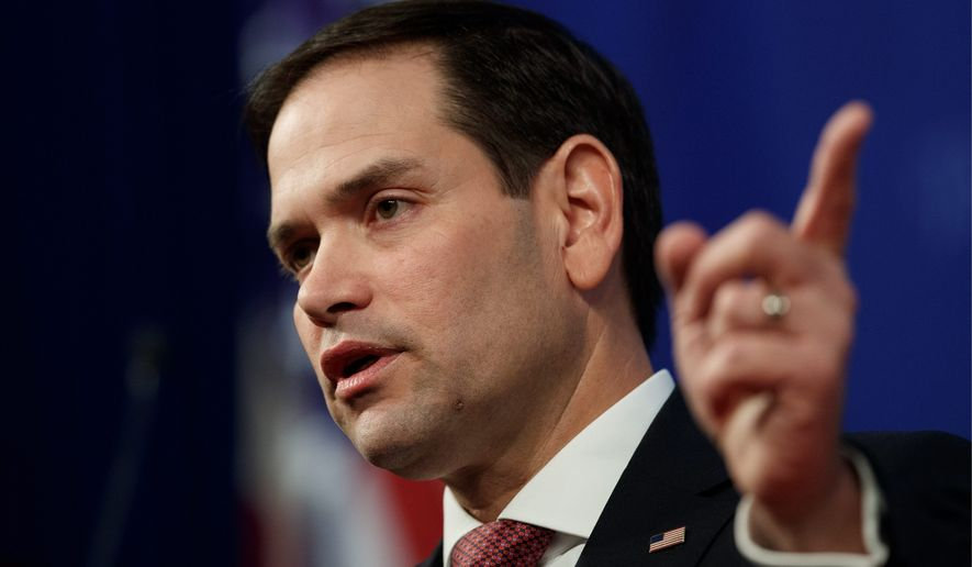 "Sen. Marco Rubio, Florida Republican, is co-sponsoring a ""red flag"" bill with a Democratic senator. Florida has such laws currently."