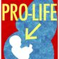 Illustration on the need for pro-life message clarity by Alexander Hunter/The Washington Times
