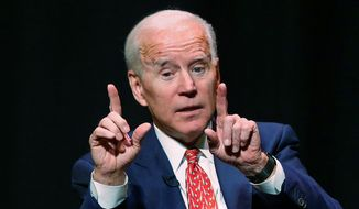 Democratic strategists say former Vice President Joseph R. Biden's window for a successful presidential bid may have closed, but polls show otherwise. (Associated Press)