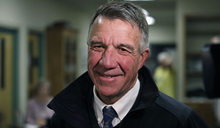 Gov. Phil Scott, a pro-choice Republican, has said he supports protecting abortion access without saying he would sign a specific bill. (Associated Press)