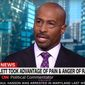 CNN analyst Van Jones discusses the arrest of actor Jussie Smollett, Feb. 21, 2019. (Image: CNN screenshot)