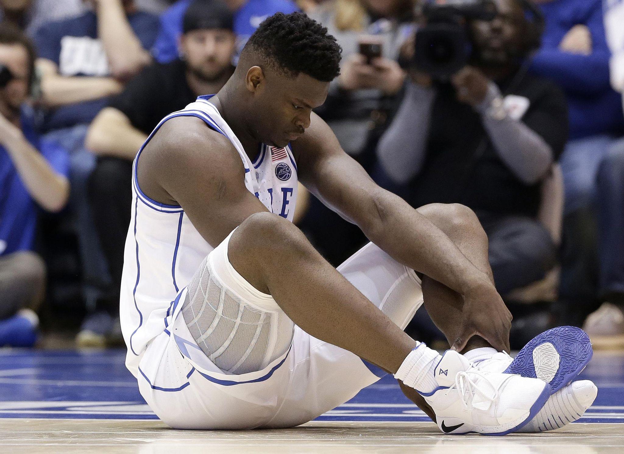 Williamson's freak injury ripples in basketball, business worlds