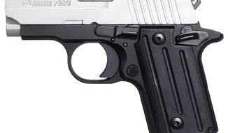 SIG SAUER P238 is a smart looking, small handgun built with the same accuracy and reliability as large frame Sig pistols. With an overall length of just 5.5 inches a height of 3.96 inches, and weighing just under a pound, the P238 is the ultimate firepower in an all metal frame concealed pistol. The P238 is built on an anodized alloy beavertail style frame with fluted grips for comfort and a secure hold during rapid-fire usage.