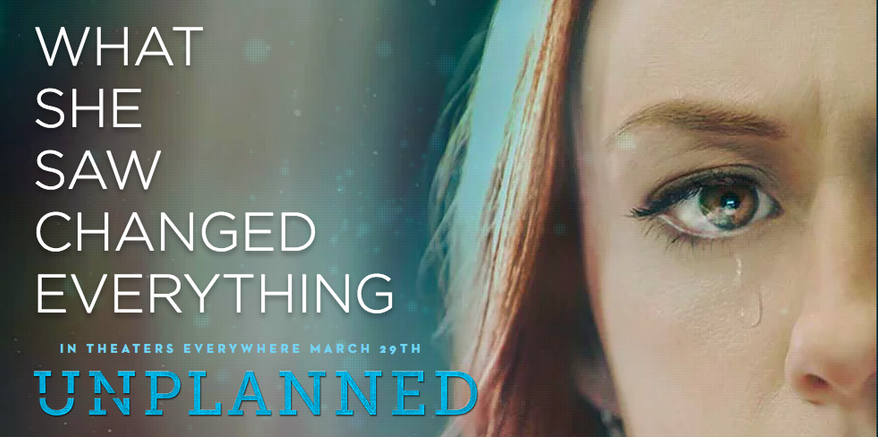"""""""Unplanned"""" - an anti-abortion, pro-life film  - has just been given a surprise R-rating by the Motion Picture Association of America, the trade association which determines the suitability of film content for viewers. (Pure Flix)"""