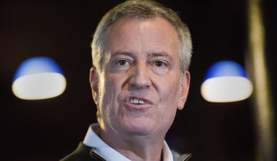 Bill de Blasio, New York City mayor, announces presidential run