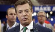 In this July 17, 2016 file photo, then-Donald Trump campaign chairman Paul Manafort talks to reporters on the floor of the Republican National Convention, in Cleveland.  (AP Photo/Matt Rourke, File)