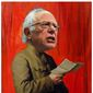 Illustration on Bernie Sanders' communism by Alexander Hunter/The Washington Times