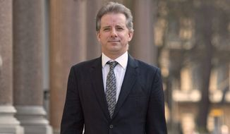 Not one of Christopher Steele's conspiracy charges was proved true and most were outright rejected by the special counsel investigation. (Associated Press/File)