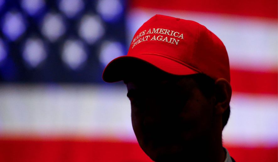 9fb4a10ce40 Seeing red  Trump opponents say the MAGA hat is much more ominous than a  show of support