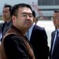 Kim Jong-nam was fatally poisoned in 2017 at airport. Pyongyang was accused of recruiting a Vietnamese woman to assassinate him. (ASSOCIATED PRESS)