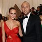Yankee great Derek Jeter and wife, model Hannah Davis