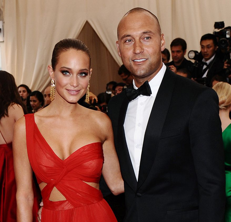 Yankee great Derek Jeter and wife, model Hannah Davis