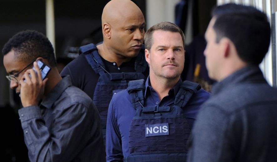 """NCIS: Los Angeles,"" whose first-run episodes air Sundays at 9 p.m. Eastern Time, receives a TV-14 rating, meaning its content is appropriate for viewers 14 years old and older. (Associated Press)"