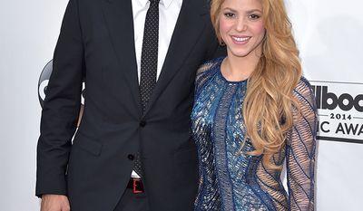 Soccer star Gerard Pique and singer Shakira